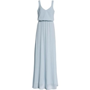 a73d94141c Show Me Your Mumu Blue Chiffon Kendall Traditional Bridesmaid Mob Dress  Size 6 (S