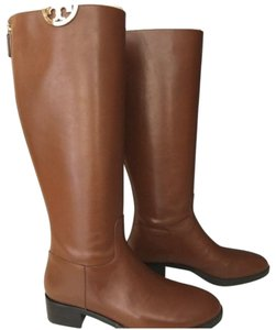 Tory Burch Leather Brown Boots