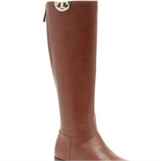 Tory Burch Leather Brown Boots Image 1