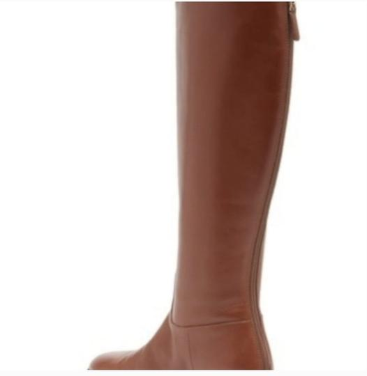 Tory Burch Leather Brown Boots Image 2