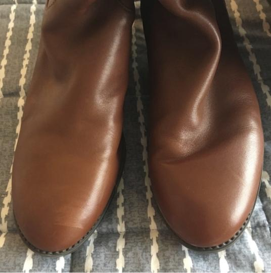 Tory Burch Leather Brown Boots Image 3