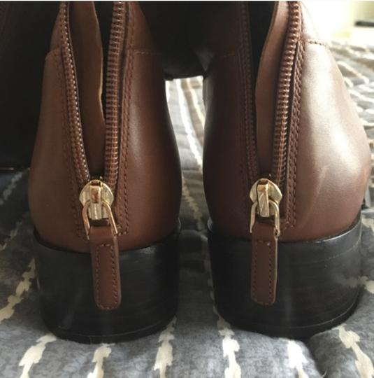 Tory Burch Leather Brown Boots Image 5