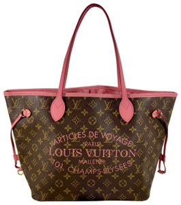 Louis Vuitton Tote in pink brown