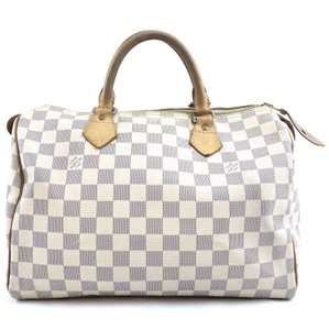 Louis Vuitton Speedy Satchel in Damier Azur