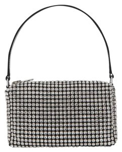 Alexander Wang Rhinestone Pouch Crystal Bags Tote in silver