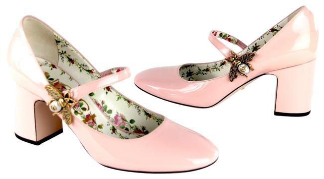 Item - Blush Lois Bee Mary Jane Patent Leather Round Toe Pink Pumps Size EU 37 (Approx. US 7) Regular (M, B)