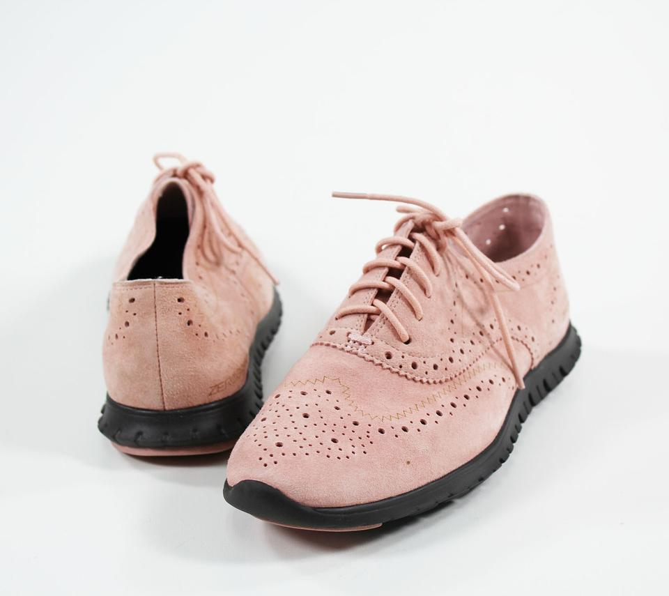 876d03eee9 Cole Haan Pink Women's Zerogrand Wing Oxford Open Formal Shoes Size ...