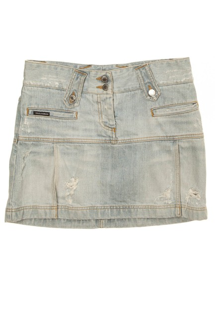 Item - Denim Mini Skirt Size 4 (S, 27)