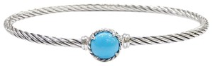 David Yurman FANTASTIC!! LIKE NEW!! David Yurman Chatelaine Bracelet with Turquoise