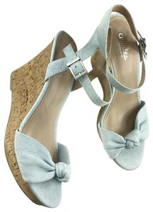 Charles by Charles David Light Green Wedges