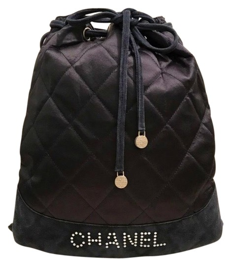 Preload https://img-static.tradesy.com/item/25387531/chanel-drawstring-vintage-with-quilted-blue-satin-and-suede-backpack-0-1-540-540.jpg