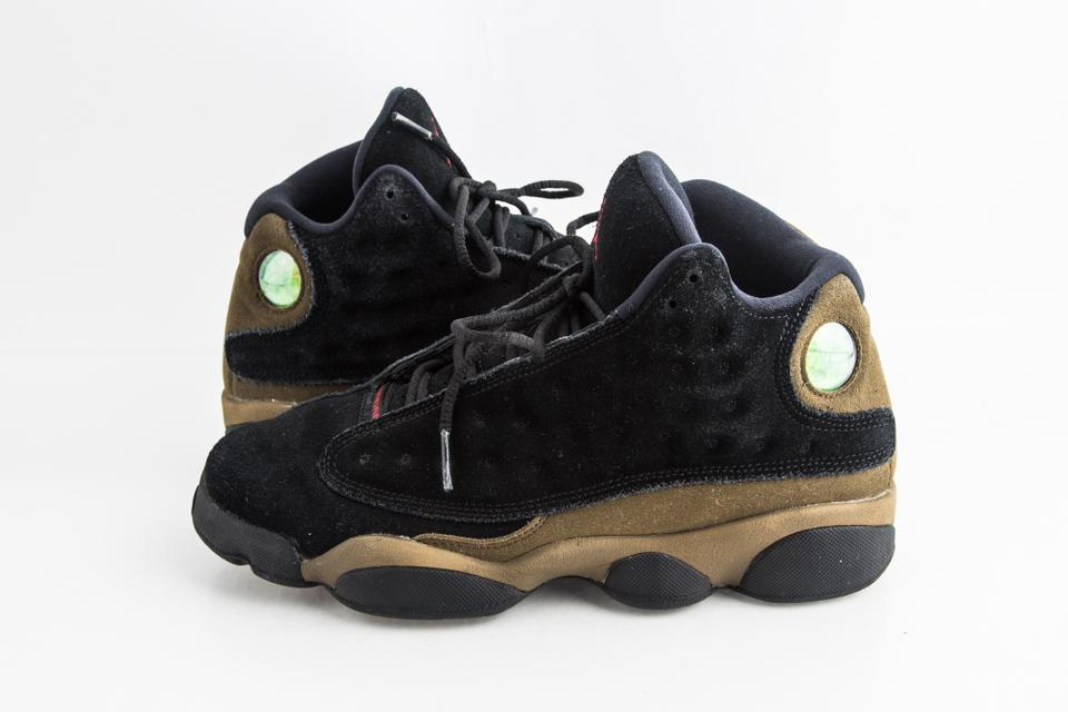 finest selection bd99a cf724 Nike Black Air Jordan 13 Retro Bg (Gs) Olive Shoes 42% off retail