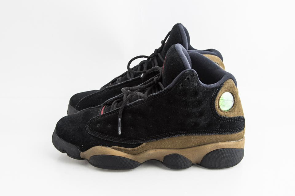 finest selection 32041 fd147 Nike Black Air Jordan 13 Retro Bg (Gs) Olive Shoes 42% off retail