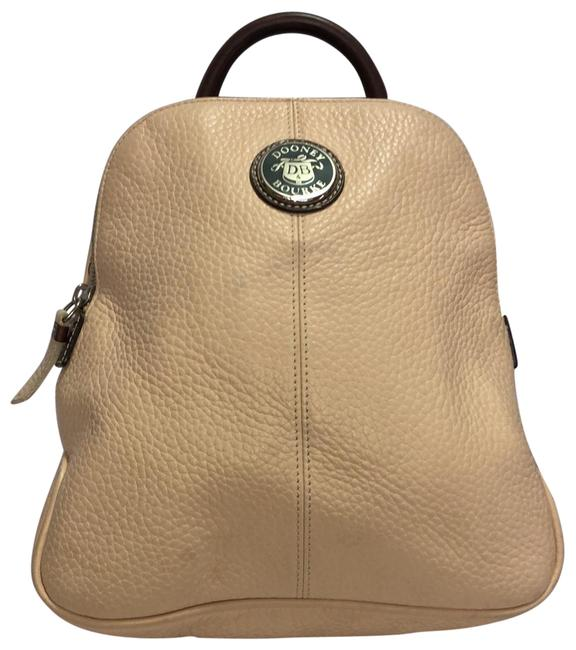 Item - Soft Leather Toupe Backpack