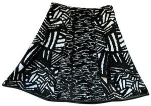 ISSA London Skirt Black/white