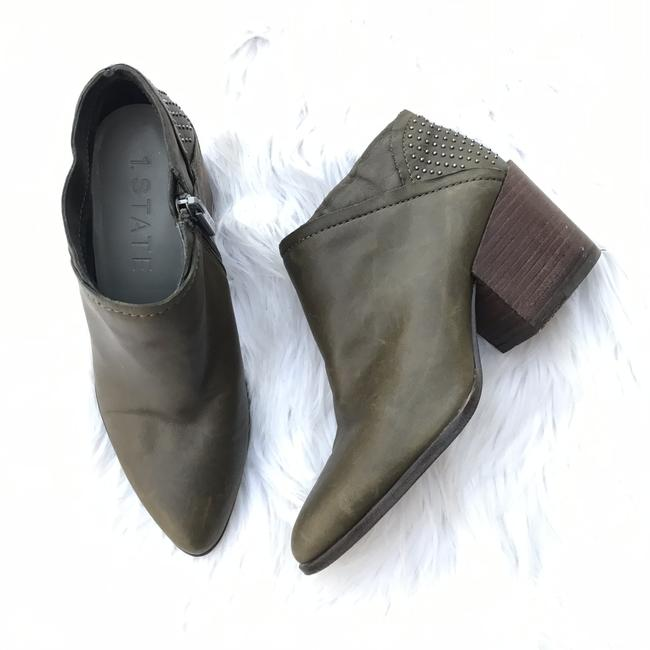 Item - Green Jelin Hunter Pointed Toe Heel Boots/Booties Size US 5 Regular (M, B)