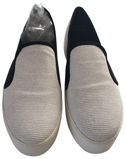 Item - Black White Waylan Textile Slip Ons Sneakers Size US 8.5 Regular (M, B)