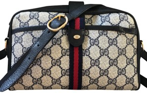 a94c1fc6c2541e Gucci Made In Italy Accessory Collection Monogram Web Cross Body Bag