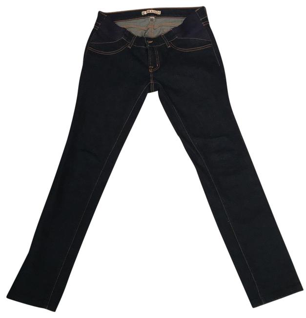 Item - Blue Dark Rinse Maternity Mama Style#3412 Straight Leg Jeans Size 6 (S, 28)