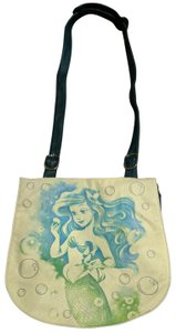 Disney Boutique Leather Ariel Cross The Body Blue and green Messenger Bag
