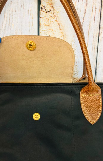 Longchamp Tote in Black Image 2