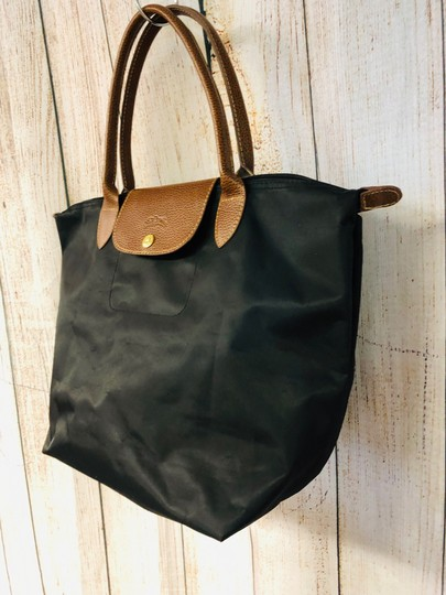Longchamp Tote in Black Image 3