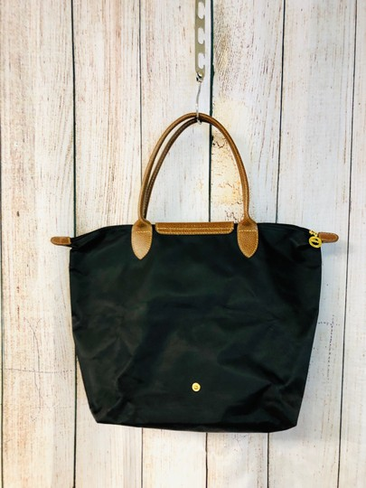 Longchamp Tote in Black Image 4