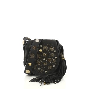 27813a2461 Black Leather Jimmy Choo Cross Body Bags - Up to 70% off at Tradesy