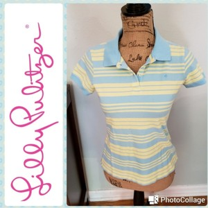 Lilly Pulitzer T Shirt Yellow & blue