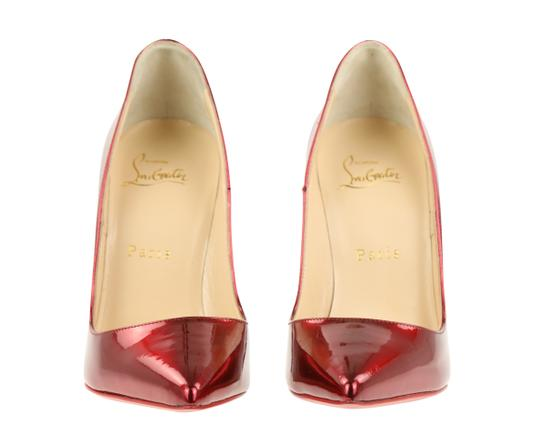 Christian Louboutin Leather Red Pumps Image 5