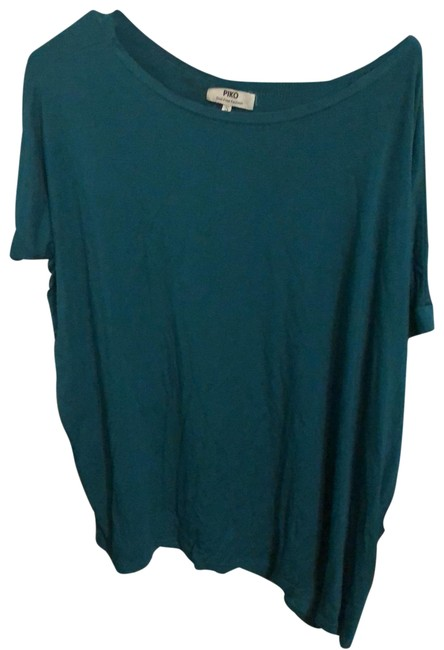 Item - Teal Blue T2195 Tee Shirt Size 4 (S)