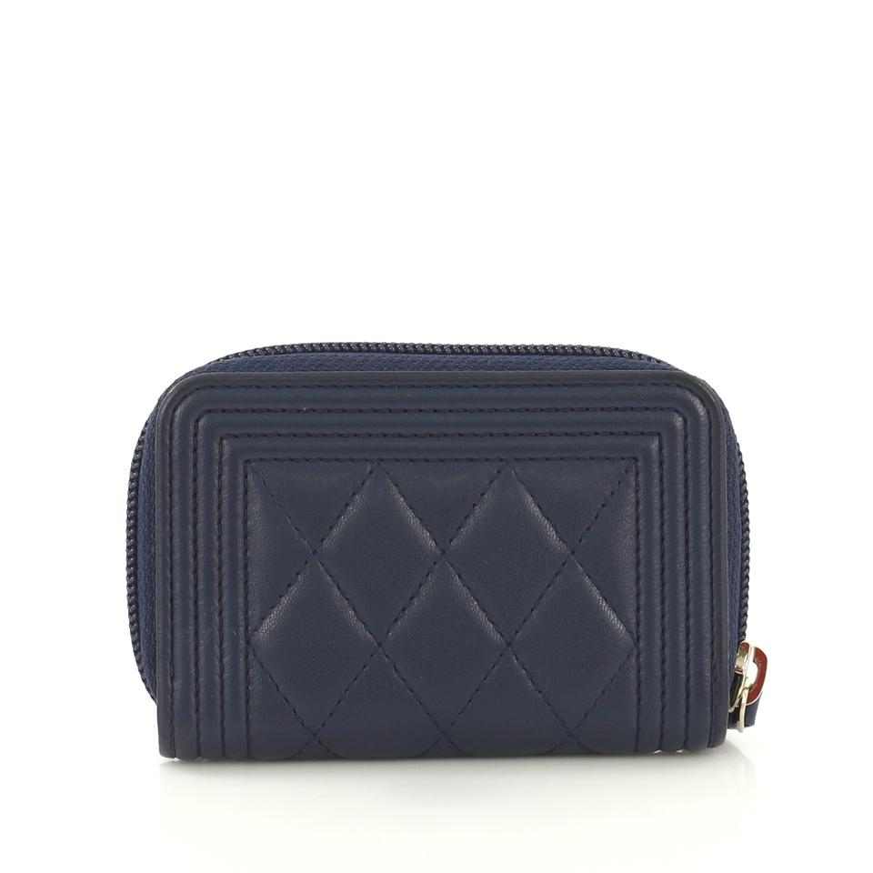 6ed3dfea1c690e Chanel Chanel Boy Zip Coin Purse Quilted Lambskin Small Image 6. 1234567