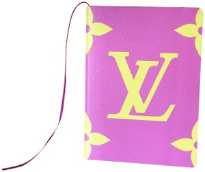 Louis Vuitton Brand New 19' Limited Edition Giant Monogram Canvas Notebook / Journal