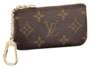 Louis Vuitton NEW! Monogram Key and credit card Pouch Cles
