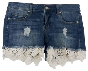 Altar'd State Denim Shorts-Distressed