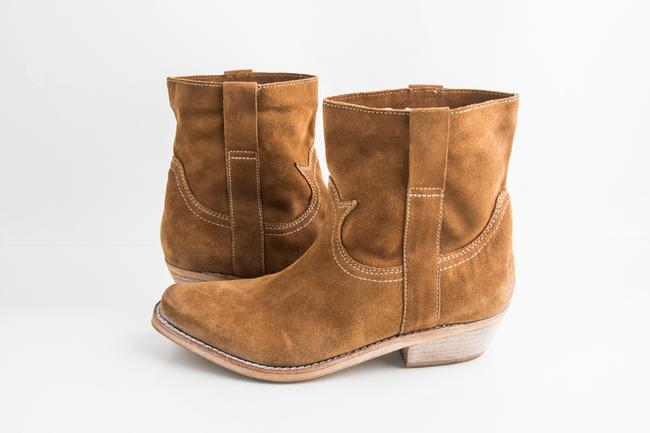 Item - Brown Cashew Myron Suede Boots Shoes