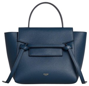 Céline Satchel in abyss blue