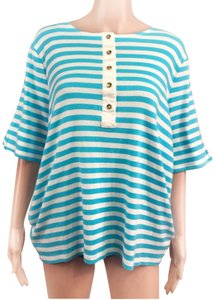 Ralph Lauren Top Blue/White