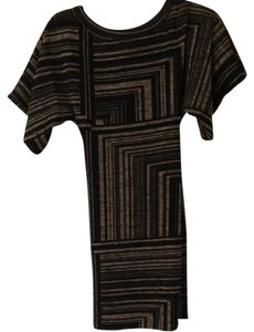 Plenty by Tracy Reese short dress Black And beige on Tradesy