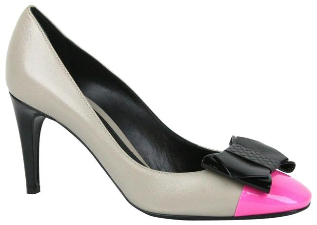 Item - Multi-color W New Leather Bow W/Pink Toe It / 10 352586 9796 Pumps Size EU 40 (Approx. US 10) Regular (M, B)