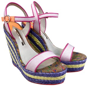 Sophia Webster Lucita Espadrille Multi-color Multi Wedges