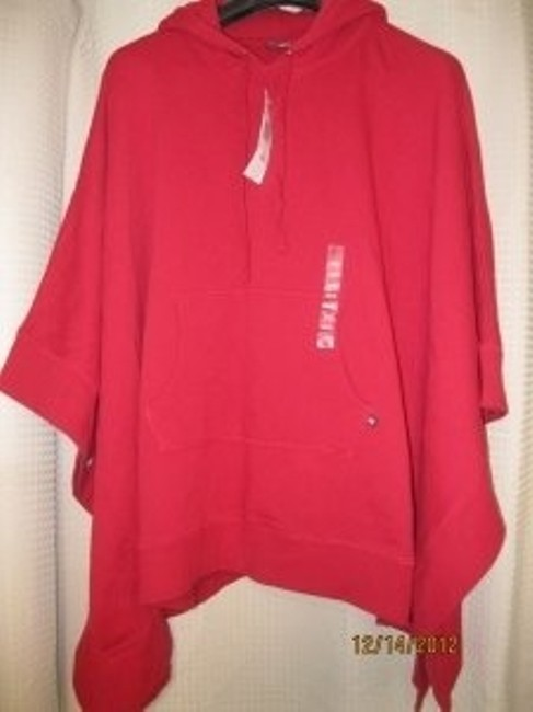 Preload https://img-static.tradesy.com/item/25392/polo-ralph-lauren-red-hoodie-ponchocape-size-os-one-size-0-0-650-650.jpg