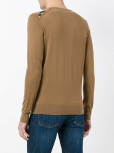 Burberry Camel Men's Cashmere Knitted Crew Neck Pullover Sweater S 4020035 Groomsman Gift