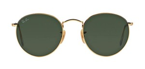 Ray-Ban Extra Large Gold Round Ray Ban RB 3447 001 - FREE 3 DAY SHIPPING Retro