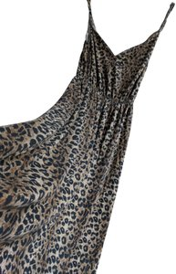 Animal Print Maxi Dress by Pencey Leopard Maxi Leopard