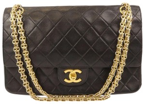 Chanel Classic Flap Clutch Shoulder Bag