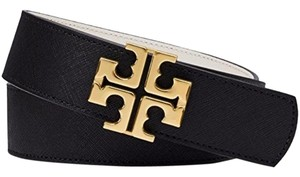 Tory Burch Reversible Black/Tigers Eye belt