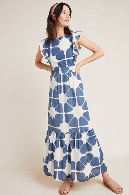 Blue Maxi Dress by Anthropologie Image 1