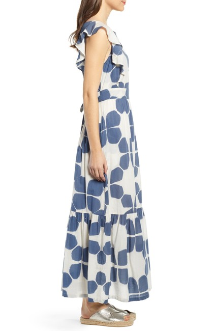 Blue Maxi Dress by Anthropologie Image 3