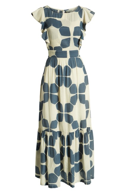 Blue Maxi Dress by Anthropologie Image 7